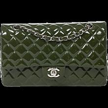 Chanel Classic Double Flap 26cm Juniper