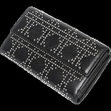 Dior Long Wallet Black