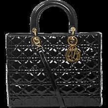 Dior Lady GM black cannage