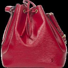 Louis Vuitton Noe Red Epi