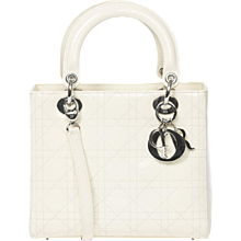 Dior Lady MM Off White