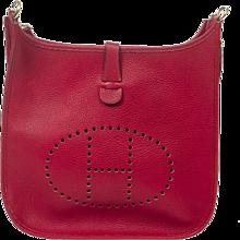 Hermès Evelyne GM Red Taurillon