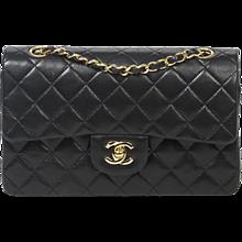 Chanel Classic double flap 23cm Black