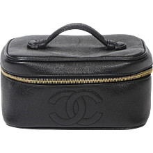 Chanel Cosmetic case Black
