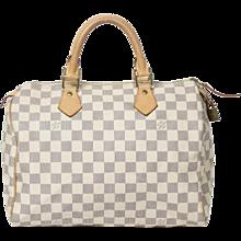 Louis Vuitton Speedy White Damier
