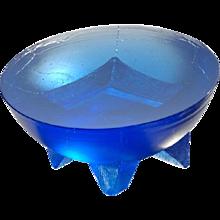 Wasserbauer, 'Hemisphere' #06051. Cobalt Blue