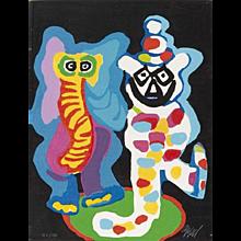 Karel Appel, 'Ils sont de famille', 1978.