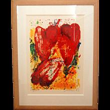 Jan Cremer, '3 Tulips', 1992