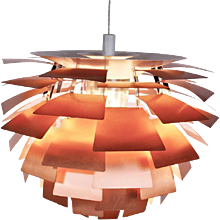 Early Poul Henningsen Artichoke Lamp, 1960's
