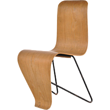 Original Bellevue Chair by André Bloc, circa 1950