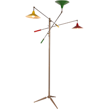 Early Edition Arredoluce Triennale Floor Lamp, circa 1950