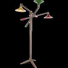 Early Edition Arredoluce Triennale Floor Lamp, circa 1950