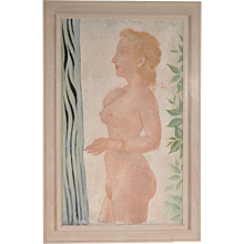 Painting by John Raedecker, circa 1939-1940