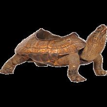 Bronze Turtle Shaped Ashtray, circa 1930