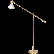 Adjustable Brass Floor Lamp, circa 1960