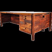 Original Jorge Zalszupin Desk, circa 1960