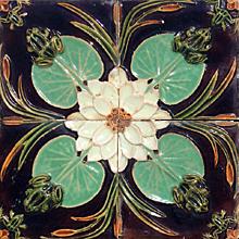 """19th century """"Caldas da Rainha"""" azulejos"""