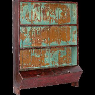 Antique Drugstore Cabinet