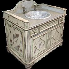 Washbasin cabinet