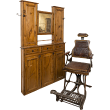 19th century Barbershop chair