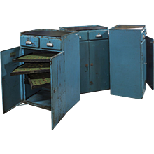 Iron tool cabinets
