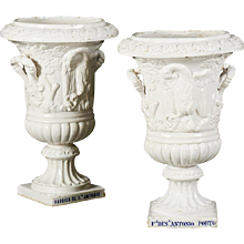 Pair of Late 19th Century Portuguese Urns