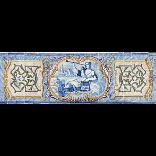 Pair of Rococo Murals