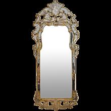 A Swedish Late Baroque Mirror, circa 1730-40