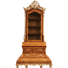 A German 18th Century Rococo Cabinet