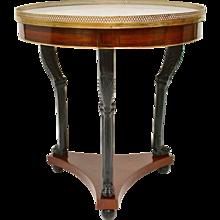 A Directoire Mahogany Gueridon Table