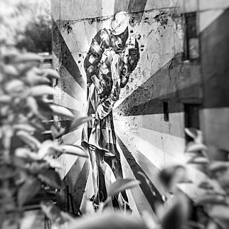 The Kiss, High Line, New York City, 2016. (Masterpiece)