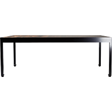 Dining table designed by Morten Höeg Larsen, Denmark. 2015.