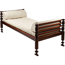 Daybed Designed by Kaare Klint for NM Rasmussen, Denmark, 1917