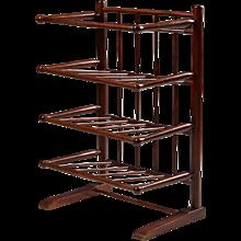 Magazine rack designed by Josef Frank for Svensk Tenn, Sweden. 1950's.