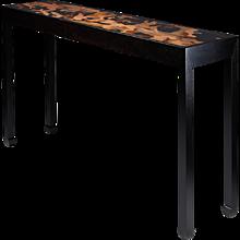 Console table designed by Morten Höeg Larsen, Denmark. 2015.