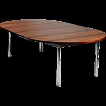 Dining table designed by Hans Wegner for Andreas Tuck Denmark. 1961.
