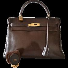 Hermès Kelly 32 Brown box