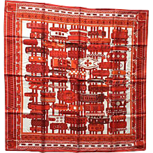 Hermes Scarf Collier de Chiens