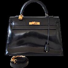 Hermès Kelly 32 Black box