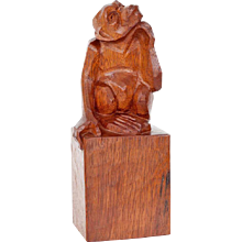 Anton Fortuin, Sculpture of a monkey