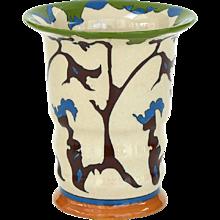 "Theo Colenbrander Art Deco Vase, Decor ""Rank"" (""Tendril""), 1923, Ram Pottery"