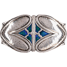 Silver Arts and Crafts Belt Buckle by Archibald Knox for Liberty & Co, 1907