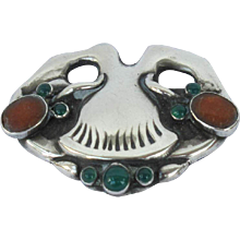 Silver Brooch by Georg Jensen, 1909-1914