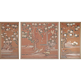 Gorgeous French Three-Part Wall Panels from the early 18th Century