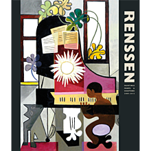 RENSSEN · Painting, Prints & Sculptures 2009 - 2015 ·  Cover with Young Man Playing the Piano (2015)