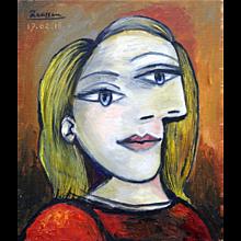 Girl with Blond Hair | 2016 | Oil painting | Erik Renssen (NL.1960)