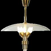 Fontana Arte style chandelier