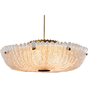 """Large Carl Fagerlund """"Embassy"""" chandelier"""
