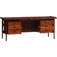 Arne Vodder Executive Desk for Sibast