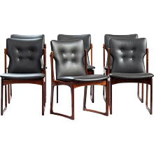 Set of Six Danish Dining Chairs